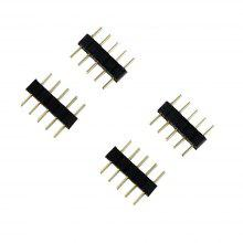 5Pin Connector Male Type Double Needle for Connet RGBW Strip 100PCS