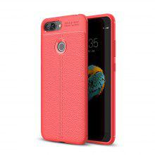 Case for Lenovo S5 Litchi Grain Anti Drop TPU Soft Cover