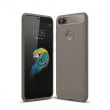 Case for Lenovo S5 Luxury Carbon Fiber TPU Soft Cover
