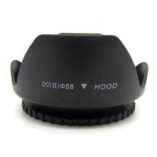 52mm / 58mm / 67mm / 72mm / 77mm / 82mm Photography General Type Flower Shape Cover for Camera Lens