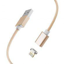 2 in 1 Data Charging Magnetic USB Cables for iPhone and Android with LED Light