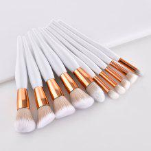 Small Pregnant Belly Make Up Brush Set 10PCS