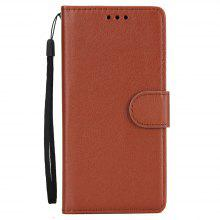 for Samsung Galaxy Note 8 Horizontal Flip Leather Wallet Case with Lanyard