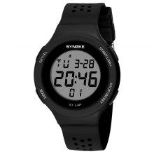 8% OFF SYNOKE Porous Outdoor Waterproof Breathable Students Watch