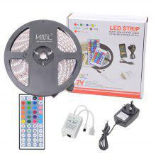 HML IP65 5050x300 RGB LED Lights Kit with 44key IR Remote Controller and UK-plug