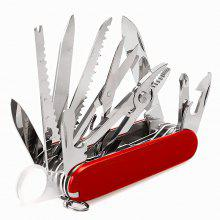 New Multi-functional Outdoor Camping Special Folding Swiss Army Knife