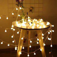 LED Round Ball String Light for Indoor and Outdoor Christmas Decoration