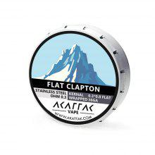 AKATTAK Stainless Steel SS316 Flat Clapton Heating Wire 20pcs