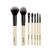 7pcs Funditional Make Up Brushes with Bag