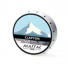 AKATTAK SS316 Stainless Steel Clapton Prebuilt Heating Wire 20pcs