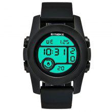SYNOKE Adult Noctilucent Waterproof Electronic Watches