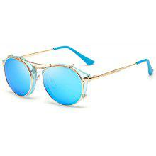 Colorful Double Box Men and Women Universal Aviator Sunglasses