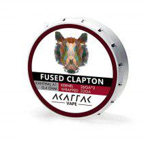 AKATTAK Kanthal A1 Fused Clapton Prebuilt Heating Wire 20pcs