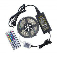 5M RGB Waterproof Flexible LED Strip Light 5050 SMD 44 Key Remote Control Set