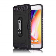 Kickstand Armor Case for iPhone 7 Plus / 8 Plus Card Holder Shockproof Cover