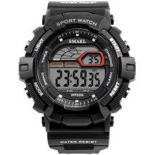 SMAEL 1527 Multi-function LED Sport Watch for Male