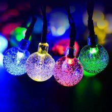 Waterproof 30 LED Solar Bubble Crystal Ball String Lights