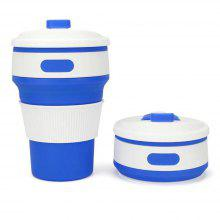 Silica Gel Folding Portable Water Cup Bottle for Sporting Yoga Running