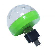 Mini Disco Ball USB Powered Stage Light RGB Stage Decoration