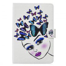 For iPad Mini 1/2/3 Case Cover Fashion Painted PU Leather Wallet Stand