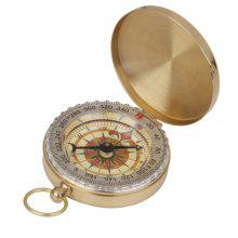 Portable Brass Pocket Compass Navigation Outdoor Camping Hiking Hunting