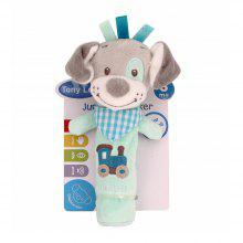 Baby Rattle Toy Cute Cartoon Animal Pattern Soft Educational Comforting Toy