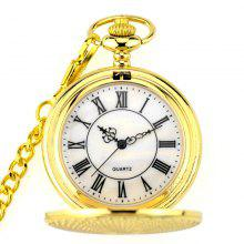 Seasonal 3152273 Renovate Hollowed Out Ancient Pocket Watch