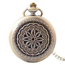 Seasonal 3152323 Hollowed Out Pocket Watch