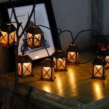 1.5M 10leds Mini House LED Fairy String Light for Party Christmas Bar Home Festival Decorative Holiday Lighting