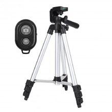 Tripod Adjustable Scalable Pan Head Mount Holder Stand for Camera DSLR Phone