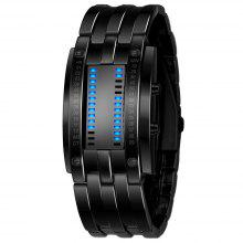 SKMEI Fashion Creative Luxury Brand Digital LED Display Lover's Wristwatches