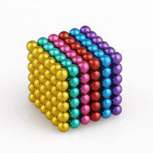 5mm Colorful Magnetic Ball Intelligence Toys 216PCS