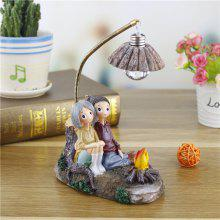 Creative Novelty Home Resin Crafts Night Light Ornaments