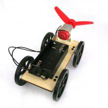 DIY Car Mini Wind Powered Toy for Kids Puzzle Educational Learning Toy