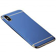 For iPhoneX Electroplating Three-stage Phone Case