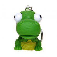 Raised Eyes Doll Anti Stress Ball Vent Animal Keychain Squeezing Toys