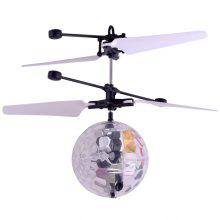 New Unique Suspension with Lighting Intelligent Induction Crystal Ball Aircraft