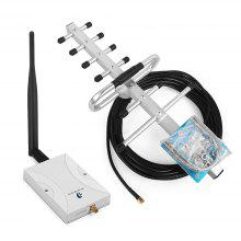 Phonetone 1700MHz Mobile Phone Signal Booster Repeater Amplifier Antenna Kit
