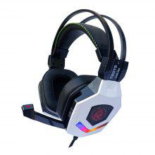 TBOTB G188PRO Vibration RGB Light USB Wired Gaming Headset Virtual 7.1 Sounds