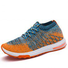 ZEACAVA Breathable Summer Leisure Casual Light Fly Woven Casual Shoes