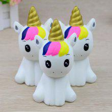 38% OFF Jumbo Squishy Beautiful Unicorn Relieve Stress Toys 1PC
