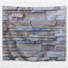 Building Stone Wall 3D Printing Home Wall Hanging Tapestry for Decoration