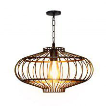 Retro Iron Creative Pendant Light Simple Personality Ceiling Lamp
