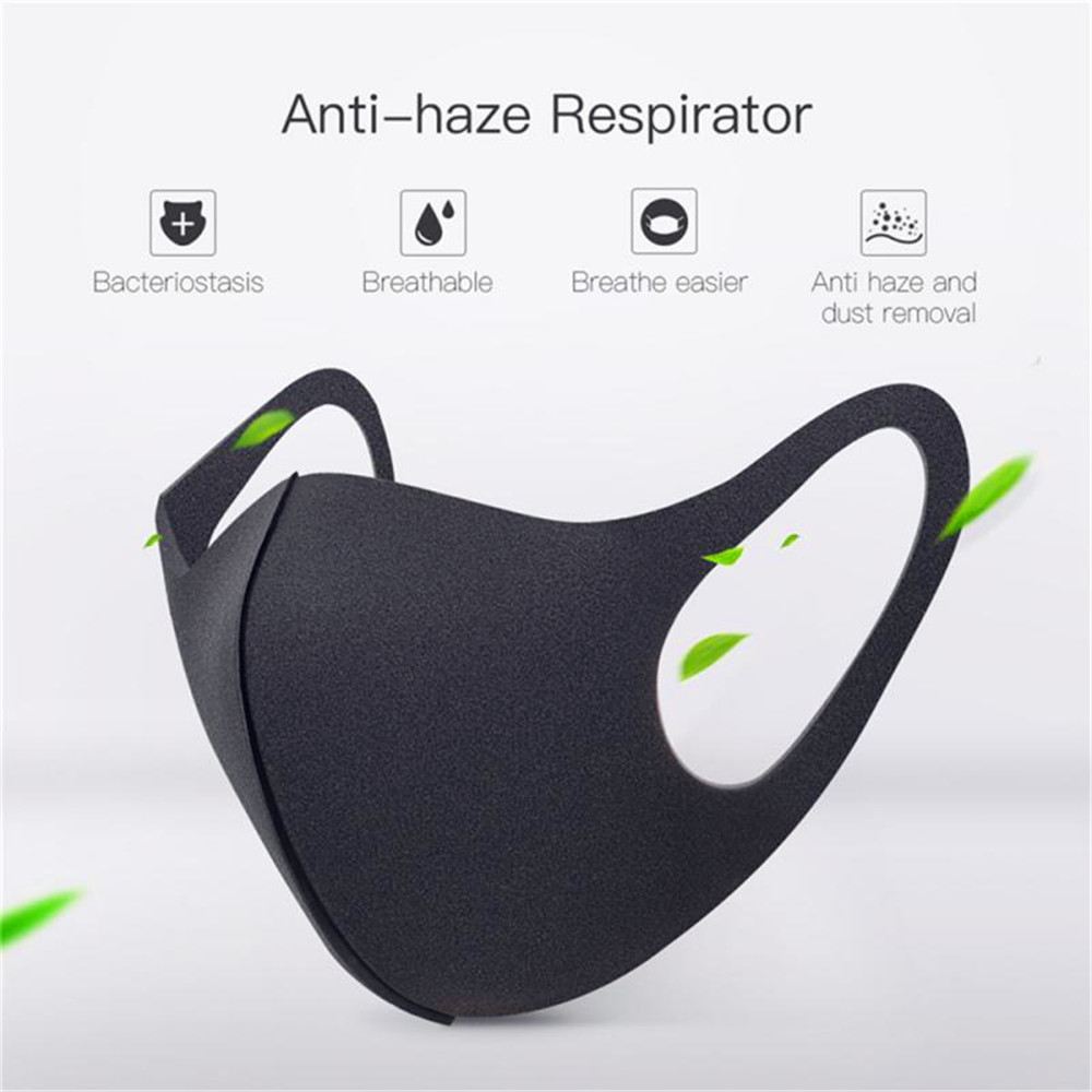 3Pcs Breathable Mask Cycling Anti Dust Mouth Face Mask Surgical Respirator
