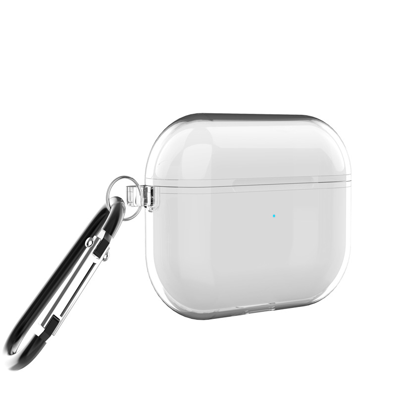 Clear Transparent Cases For Airpods Pro With Keychain Hook Up For Airpods 3 Sale Price Reviews Gearbest