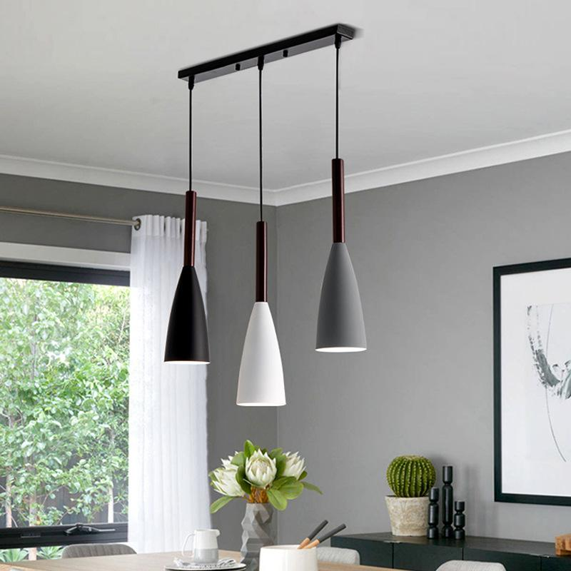 Modern 3 Pendant Lighting Nordic Minimalist Led Pendant Lights Dining Table Kitchen Hanging Lamps Sale Price Reviews Gearbest Mobile