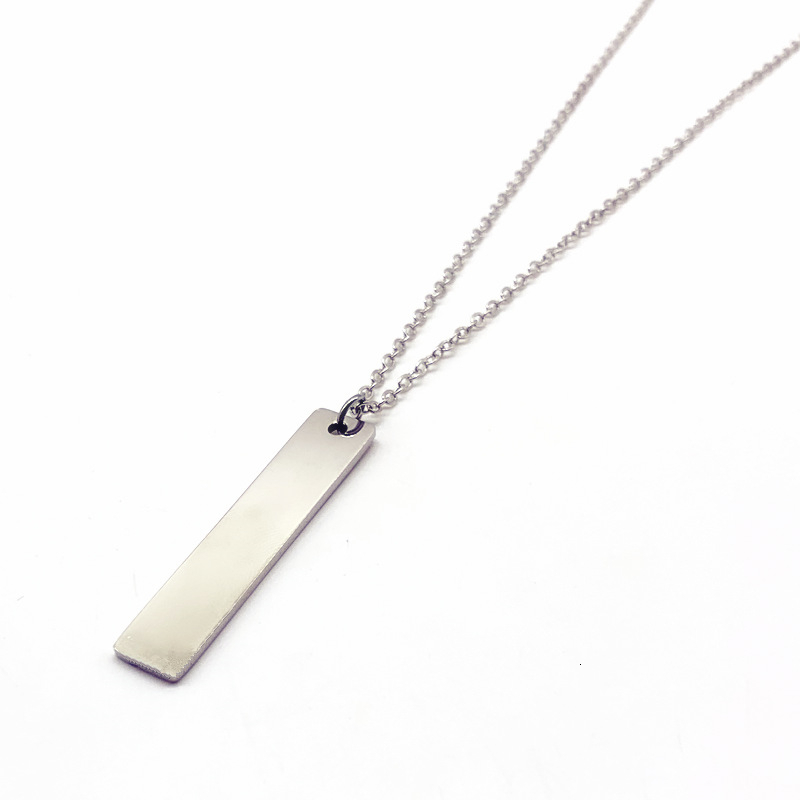 Fashionable men/'s stainless steel buckle leather PU leather pendant necklace-DR