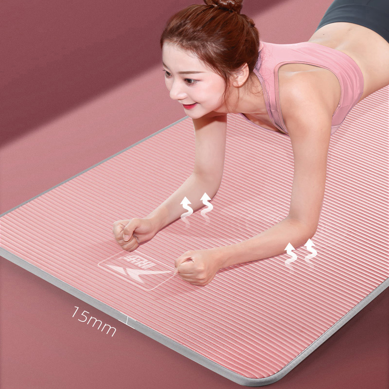 15mm Yoga Mat Carpet Edgecovered Nonslip Sports Tear Resistant Nbr Fitness Mats Sale Price Reviews Gearbest
