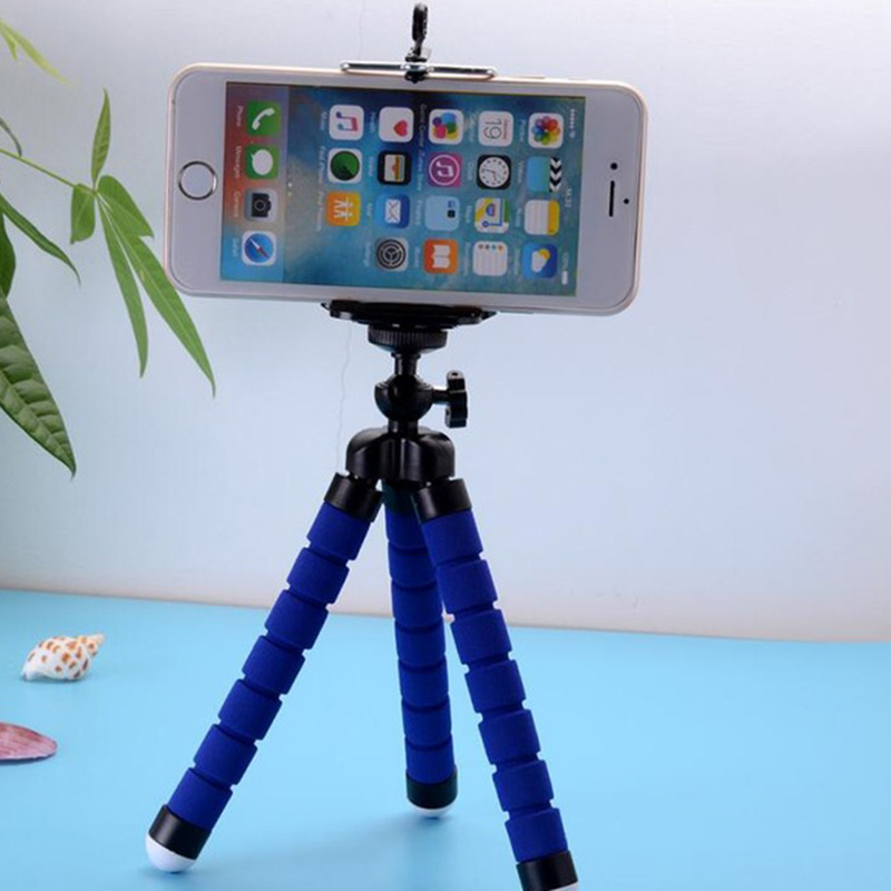 360 Rotation Tripod Bracket Mount Holder Stand For Camera Cellphone