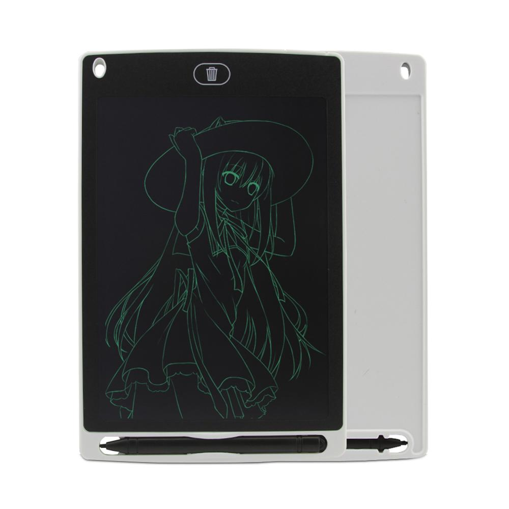 School,Office Electronic Graphics Tablet Portable 3 Pcs 8.5 Inch Electronic Graffiti Painting Board Intelligent Dust-Free Magnetic Light Painting Toy for Kids and Adults for Home